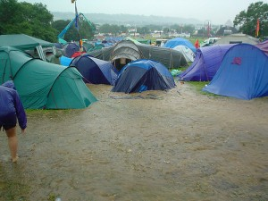 Camping for festivals - By: Simon Q