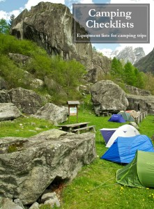 camping-checklists