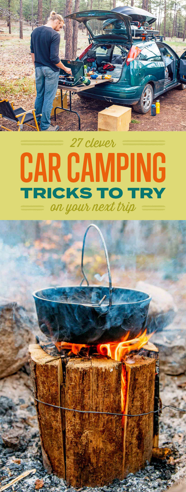 27 Clever Car Camping Tricks To Try On Your Next Trip ...