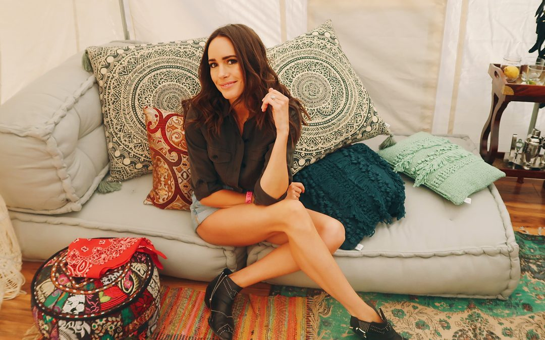 Louise Roe's Top 5 Secrets to Glamping at Coachella Like a Boss