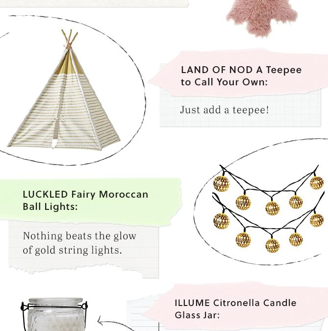 3 Ways to Decorate the Ultimate Glamping Site