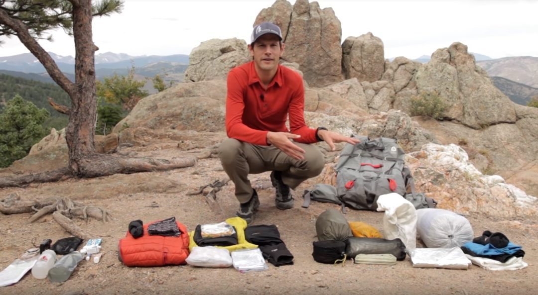 Here's What's in Pro Backpacker Andrew Skurka's Pack