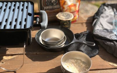 3 just-add-water pancake mixes perfect for camping